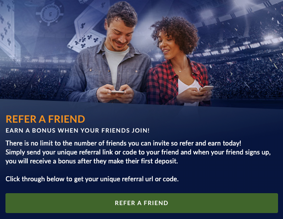 Sports Interaction Refer a Friend