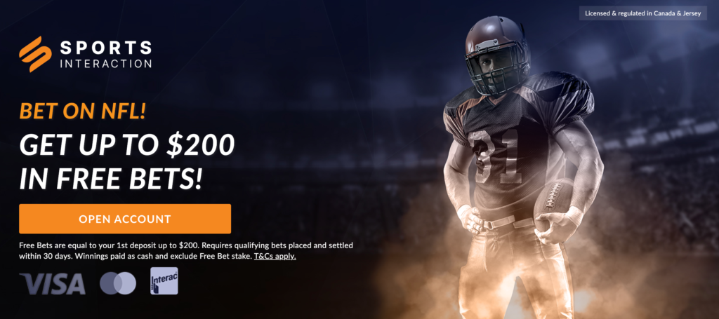 Sports Interaction NFL offer